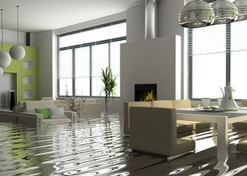 a flooded and moldy home in New York